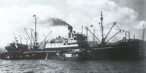IMC industrial group - milestones 1940 first ship