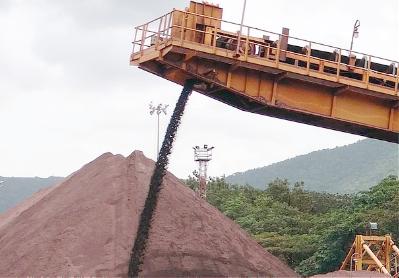 Iron ore supply chain